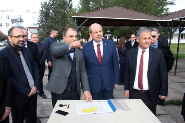 Tatar, AMATEM'in inşaat yerini incelemede bulundu