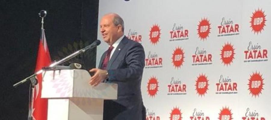 Tatar: UBP ülkenin sigortası, KKTC'nin teminatıdır