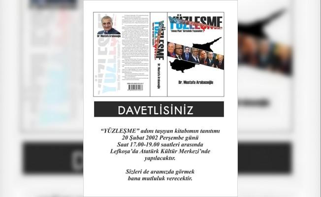 Arabacıoğlu'nun kitabı AKM'de tanıtılacak