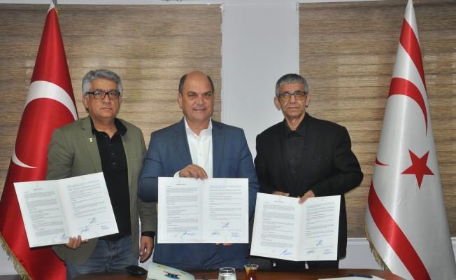 Değirmenlik Belediyesi ile KTEZO protokol imzaladı