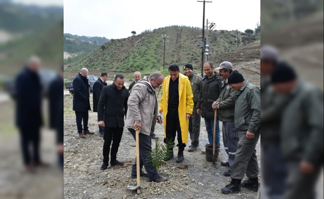 Geçitköy Baraj Bölgesi'ne Lavanta ekildi...