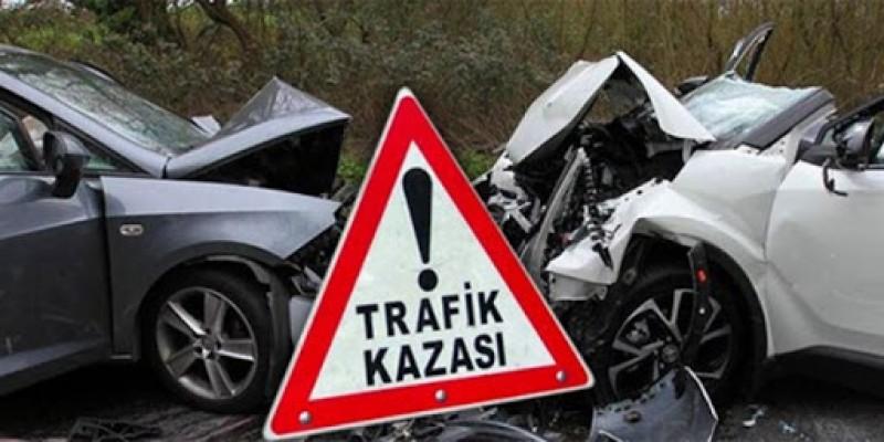 Geçtiğimiz hafta toplam 84 trafik kazası meydana geldi...