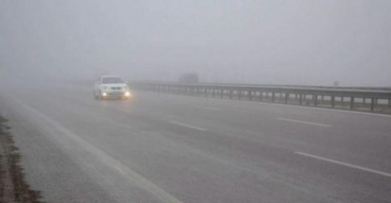 Girne-Değirmenlik dağyolu'nda sis uyarısı