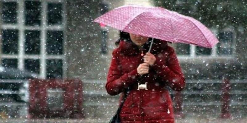 Haftasonu karla karışık yağmur bekleniyor