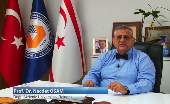 Prof. Dr. Osam istifasını sundu!