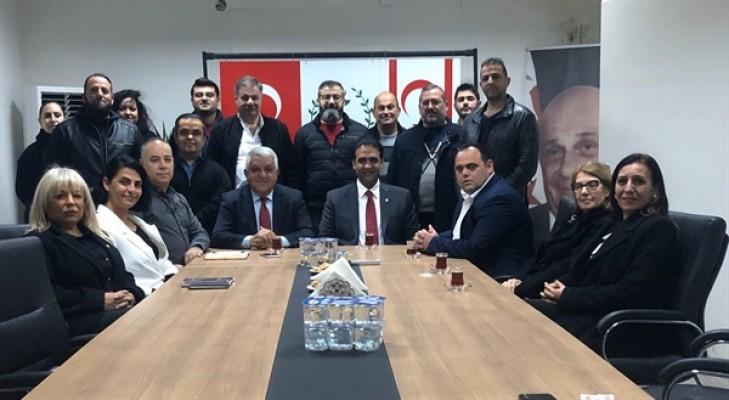 Sadıkoğlu: İki parti olarak Kıbrıs konusunda aynı çizgideyiz