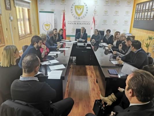 Sağlık Bakanlığı'nda bilgilendirme toplantısı gerçekleştirildi
