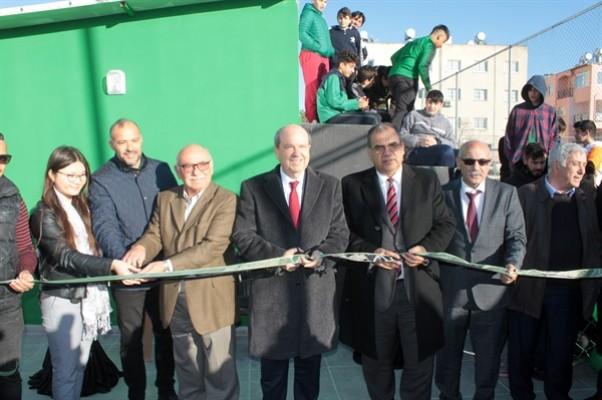 Şehit Hüseyin Ruso Stadyumu'nun ek binaları törenle açıldı