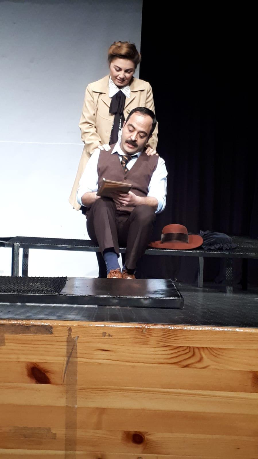 """""""Stefan Zweig'ın çöküşü"""" sahnelendi"""