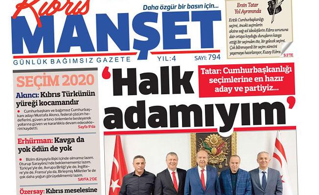 Tatar: Cumhurbaşkanlığı seçimlerine en hazır aday ve partiyiz...