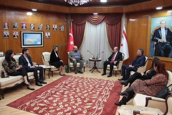 Tatar, Türkiye Yeşilay Temsilcilerini kabul etti