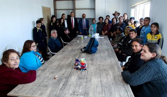 Uluçay Geçitkale Belediyesi'ni ziyaret etti