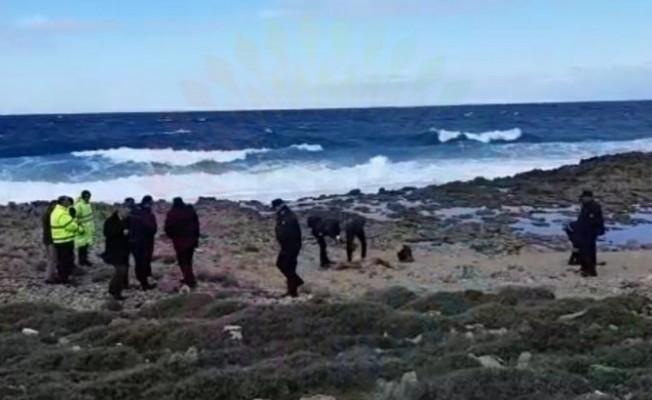 Yenierenköy'de sahile vurmuş ceset bulundu