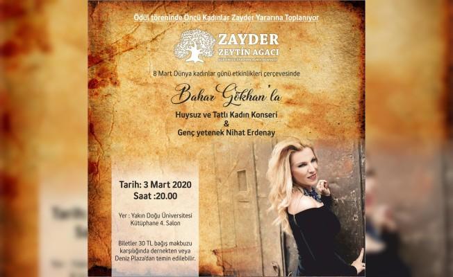 ZAYDER, Kadın Atölyesine yararına konser düzenliyor