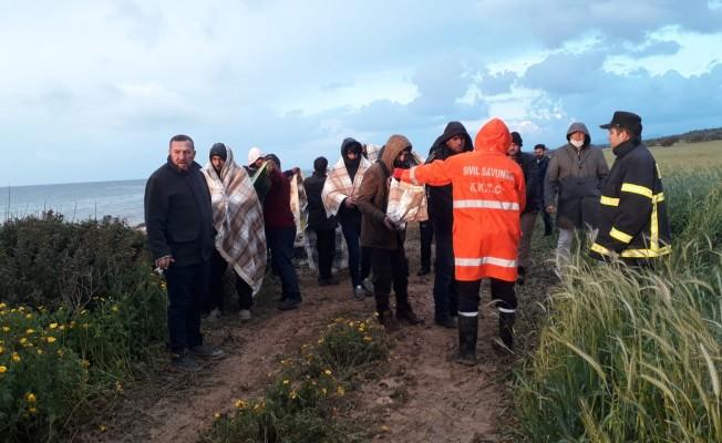 175 Suriyeli sığınmacı İskele'de...