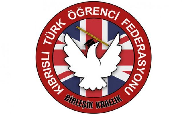 Birleşik Krallık Kıbrıslı Türk Öğrenci grubu açıklama yaptı