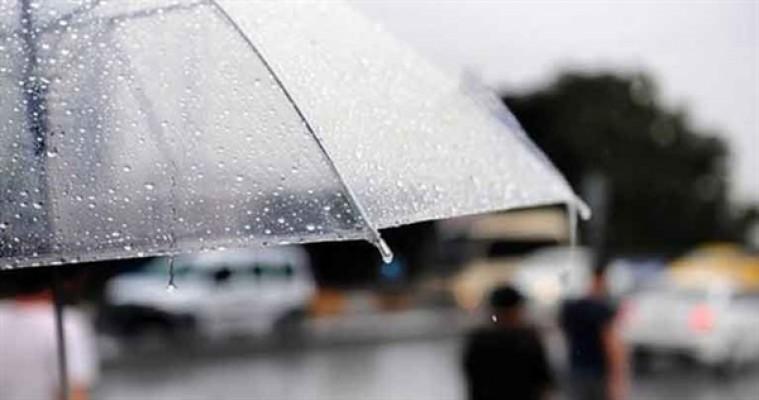 Cuma yer yer yağmur bekleniyor...