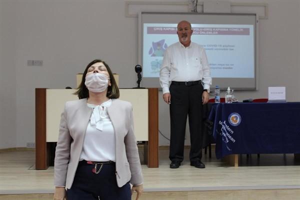 DAÜ'de Korona Virüsünden Korunma konferansı düzenlendi