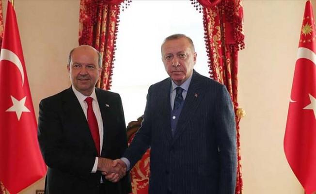 Erdoğan, Tatar ile görüştü