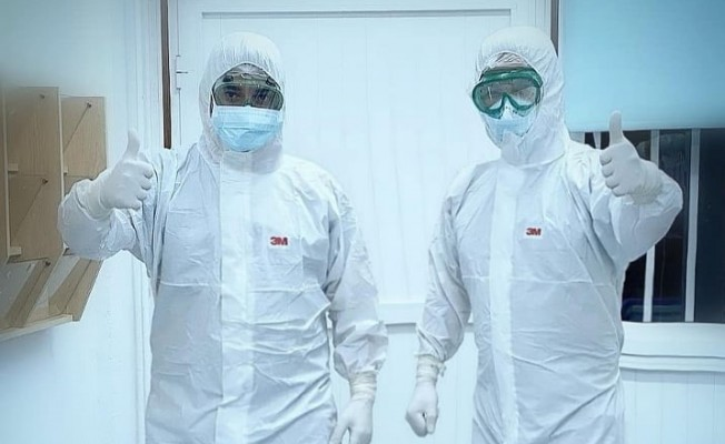 Lefkoşa Devlet Hastanesi karantina hemşireleri çağrı yaptı...