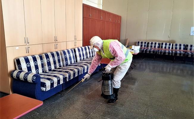 Okullarda kapsamlı dezenfekte işlemi başlatıldı