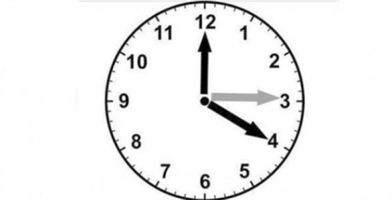 Yaz saati uygulaması, yarın başlıyor