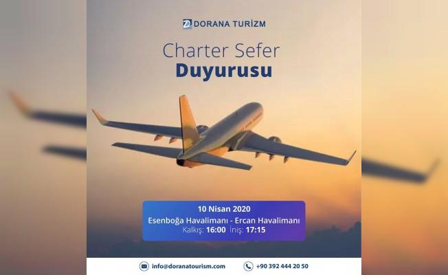 Bir uçak seferi de Ankara'dan...