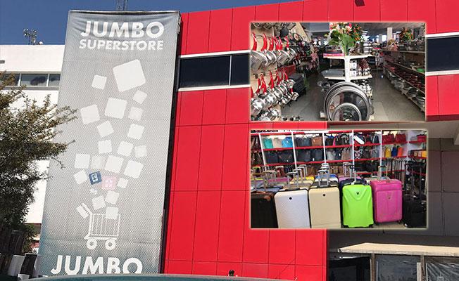 Jumbo Superstore çalışıyor küçük esnaf bakıyor!