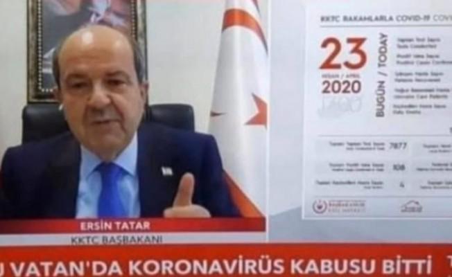 """""""Kıbrıs Türkü birlik ve beraberlik içerisinde tüm sıkıntıları aşar"""""""