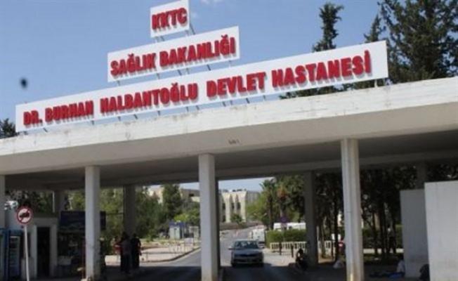 Nalbantoğlu Devlet Hastanesi'nin çamaşırhanesinde yangın çıktı