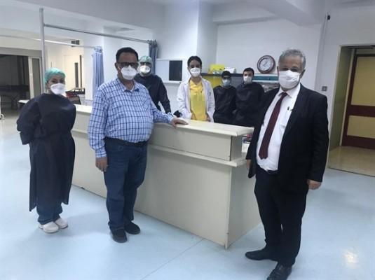 Pilli, Lefkoşa Devlet Hastanesini ziyaret etti