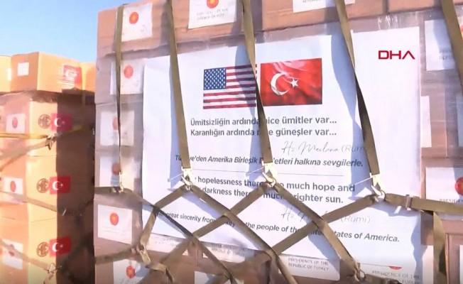 Türkiye'den ABD'ye corona virüs yardımı