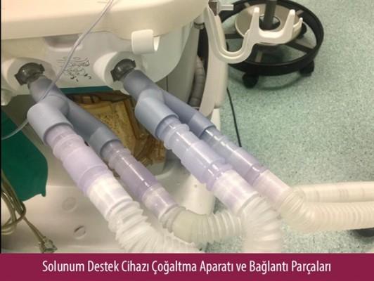 YDÜ Alternatif solunum cihazı üretti