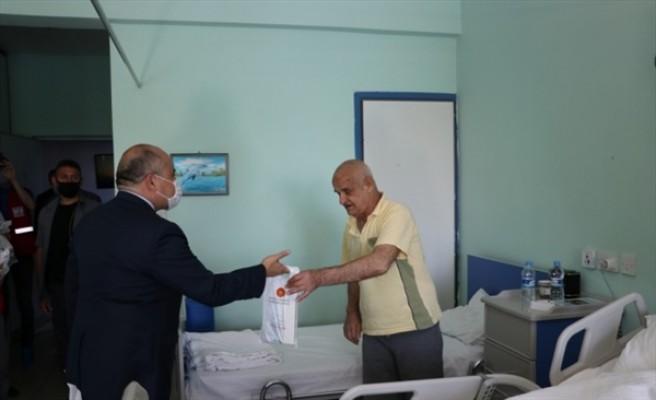Erdoğan'dan KKTC'deki yaşlılar için hijyen paketi