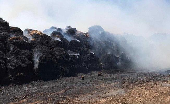 Gaziköy ağıllar bölgesinde yangın!