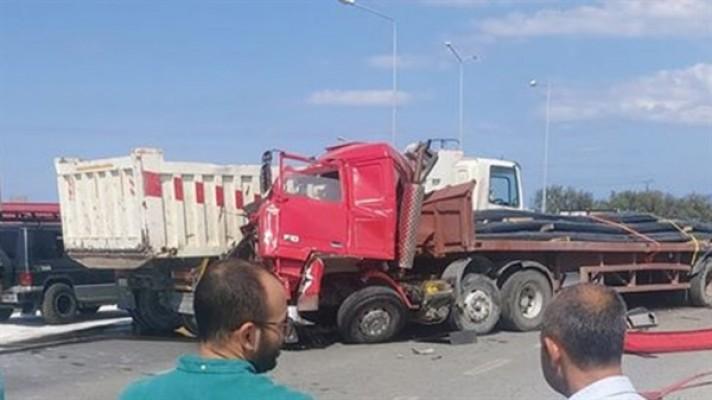 Güvercinlik kavşağı'nda trafik kazası…