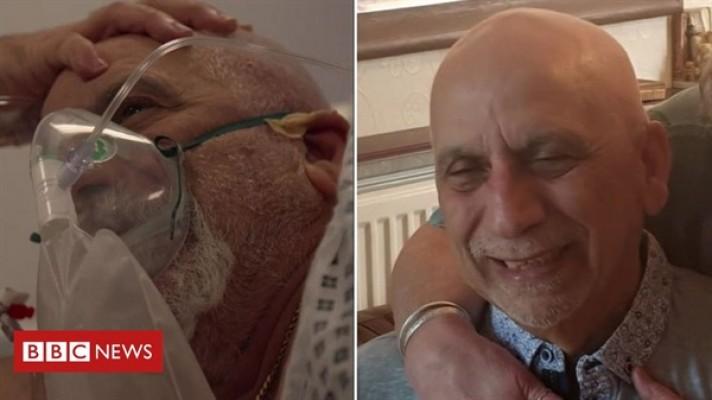 İngiltere'de koronavirüsü yenen Kıbrıslı Türk Nazım yaşadıklarını anlattı