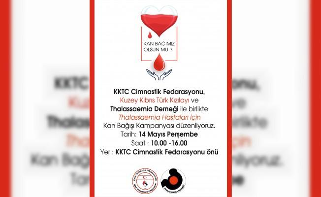 Perşembe günü kan bağış kampanyası düzenleniyor