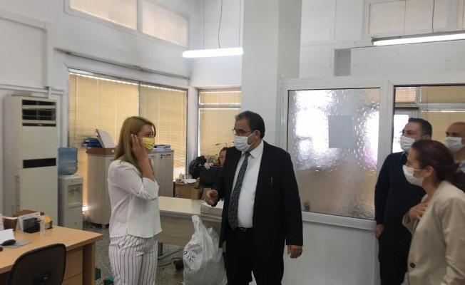 Sucuoğlu Sosyal Sigortalar Dairesi çalışanlarına teşekkür etti