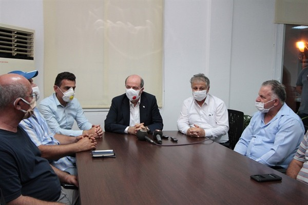 Tatar: Yangın büyük ölçüde kontrol altına alındı