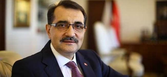 TC Enerji Bakanı Dönmez'den Doğu Akdeniz açıklaması...