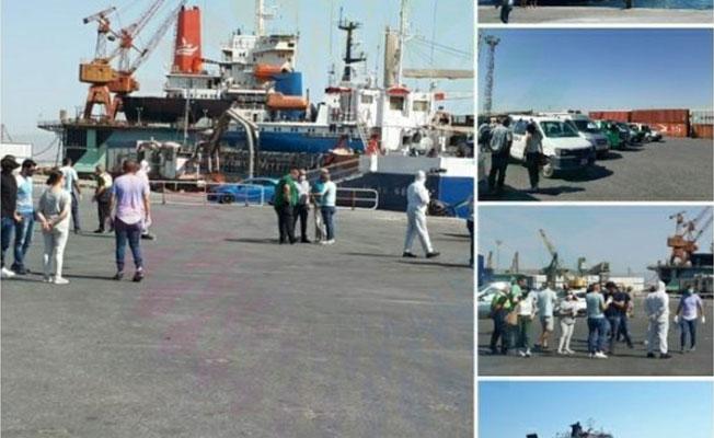 12 cenaze Gazimağusa Limanı'nda...