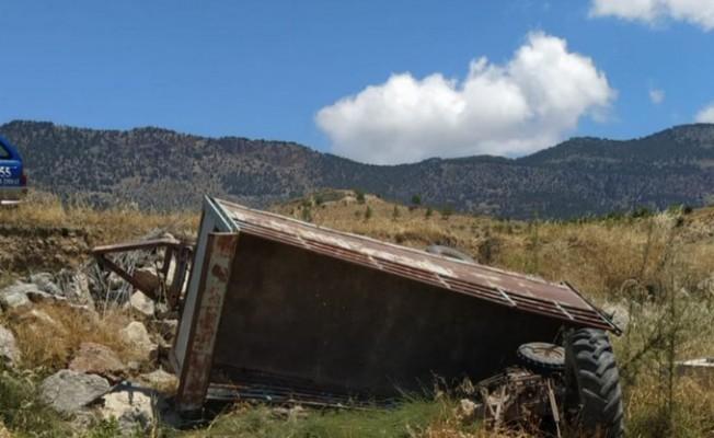 29 Yaşındaki genç traktör kazasında hayatını kaybetti