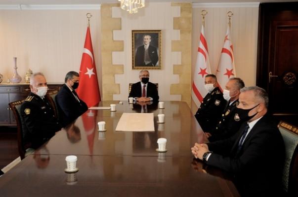 Akıncı, Ahmet Soyalan'ı kabul etti...
