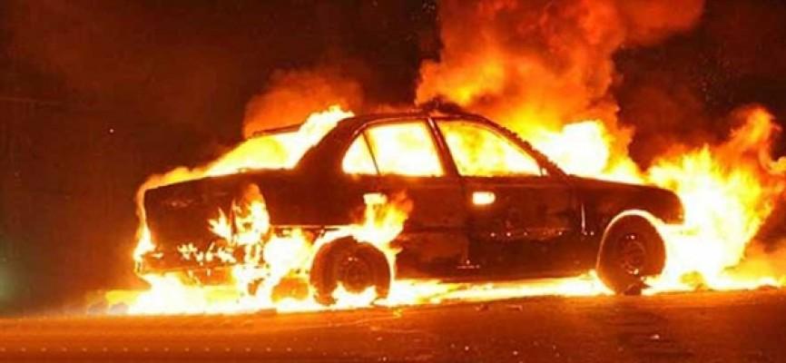 Araçta meydana gelen yangın arziye sıçradı!