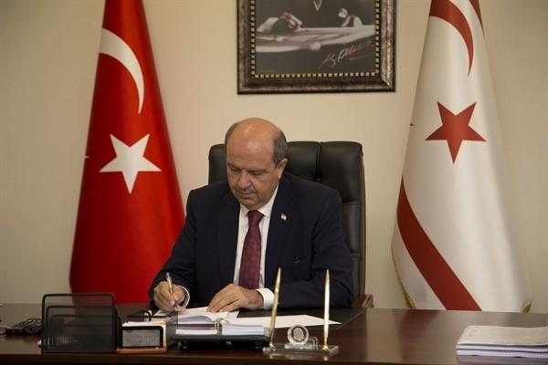Başbakan Tatar, taziye mesajı yayımladı...