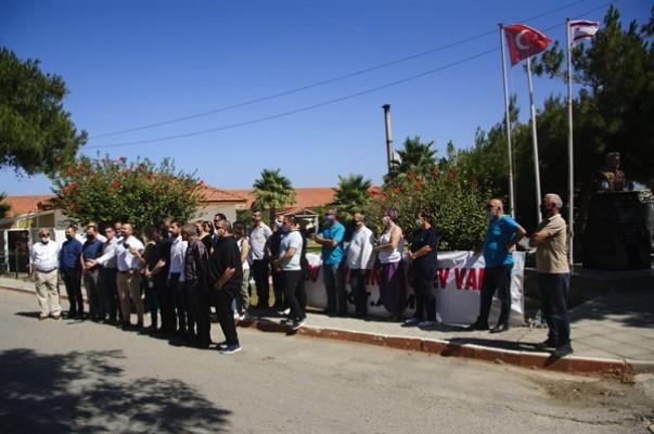 Cengiz Topel Hastanesinde 3 saatlik uyarı grevi yapıldı