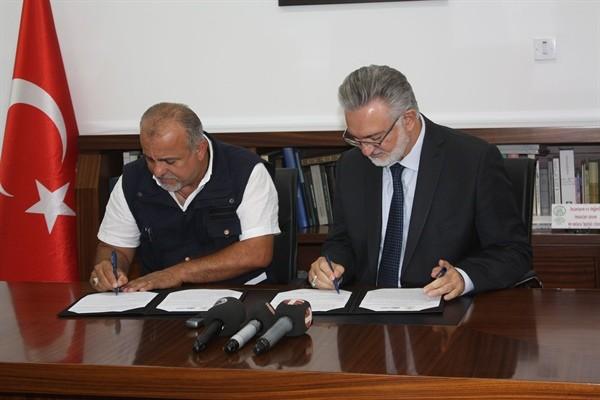 Evkaf ve Orman Dairesi protokol imzaladı