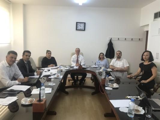 Hukuk, Siyasi İşler ve Dışilişkiler Komitesi toplandı