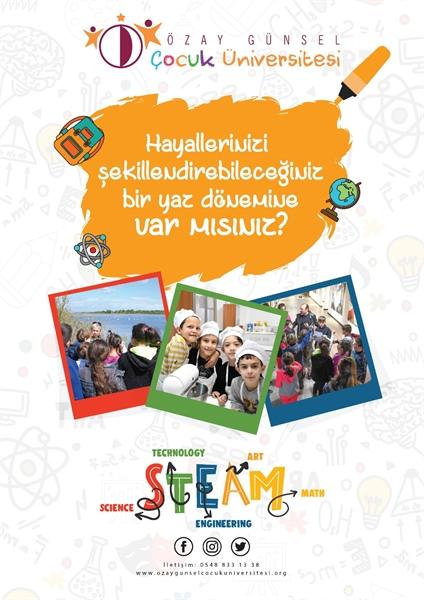Özay Günsel Çocuk Üniversitesi yaz programı başlıyor